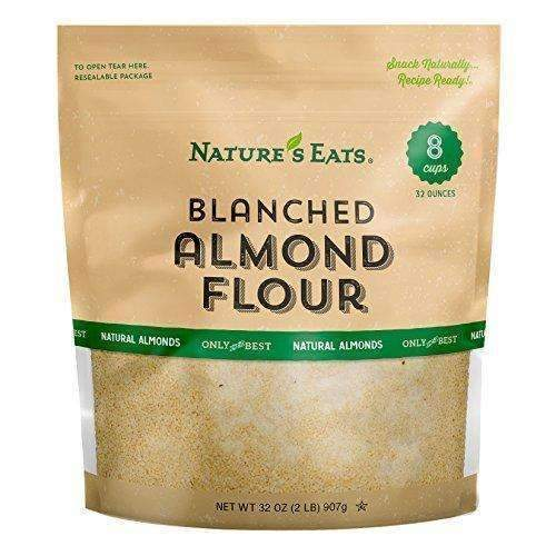 Nature'S Eats Blanched Almond Flour, 32 Ounce: Grocery & Gourmet Food- Shop MIXXCI