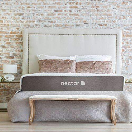 Nectar Twinxl Mattress + 2 Free Pillows - Gel Memory Foam - Certipur-Us Certified - 180 Night Home Trial - Forever Warranty: Mattresses- Shop MIXXCI