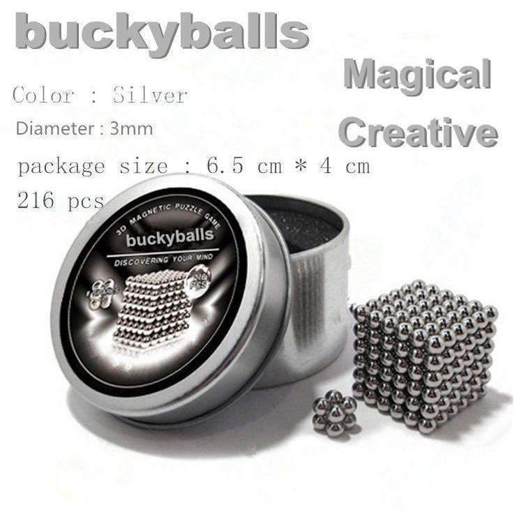 Neo Cube Magic Cube Puzzle Metaballs Magnetic Buckyballs: Ornaments- Shop MIXXCI