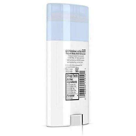 Neutrogena Ultra Sheer Face & Body Stick Sunscreen Broad Spectrum Spf 70, 1.5 Oz.: New- Shop MIXXCI