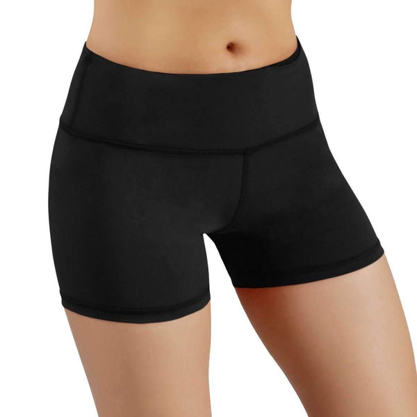 Ododos By Power Flex Yoga Shorts For Women Tummy Control Workout Running Shorts Pants Yoga Shorts With Hidden Pocket: Womens Activewear- Shop MIXXCI
