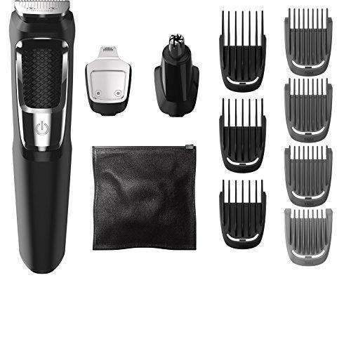 Philips Norelco Multigroom Series 3000, 13 Attachments, Ffp, Mg3750: Mens Shaving & Hair Removal- Shop MIXXCI