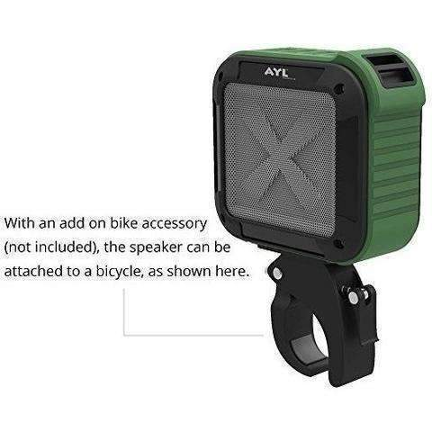 Portable Outdoor Shower Bluetooth 4.0 Speaker By Ayl Soundfit, Waterproof, Wireless With 10 Hour Rechargeable Battery Life, Powerful 5W Audio Driver, Pairs With All Bluetooth Devices (Ocean Blue): Audio- Shop MIXXCI