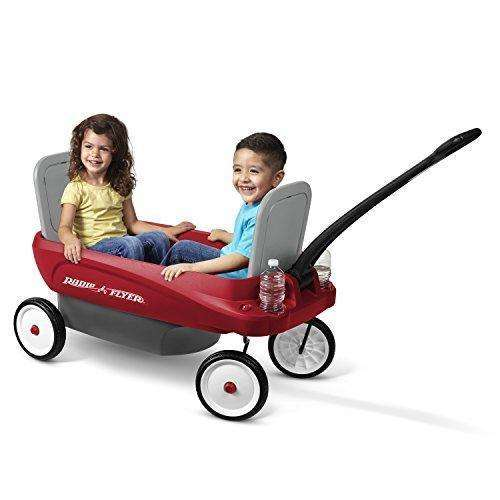 Radio Flyer 2-in-1 Journey Wagon: Kids Pull-Along Wagons- Shop MIXXCI