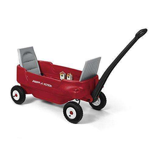 Radio Flyer All-Terrain Pathfinder Wagon Ride On, Red: Kids Pull-Along Wagons- Shop MIXXCI
