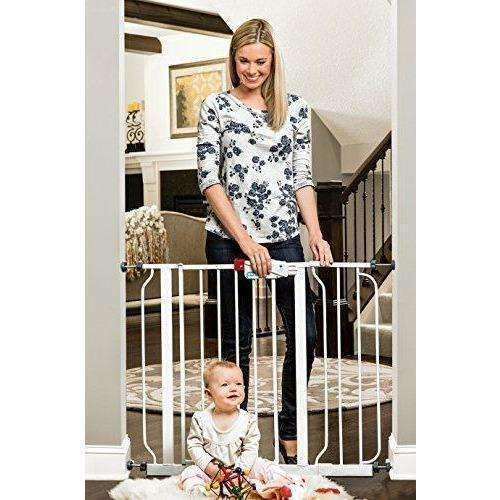 "Regalo Easy Step Walk Thru Gate, White, Fits Spaces Between 29"" And 39"" Wide: New- Shop MIXXCI"