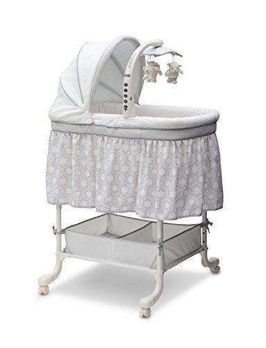 Simmons Kids Deluxe Gliding Bassinet, Seaside: - Shop MIXXCI
