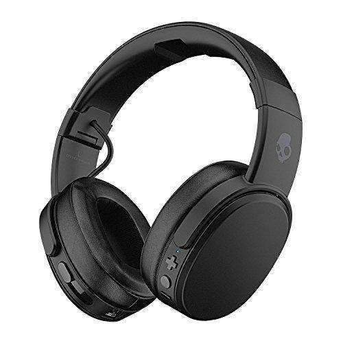 Skullcandy Crusher Bluetooth Wireless Over-Ear Headphones With Microphone, Noise Isolating Memory Foam, Adjustable And Immersive Stereo Haptic Bass, Rapid Charge 40-Hour Battery Life, Black: Audio Headphones- Shop MIXXCI