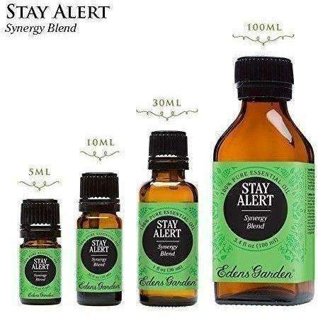 Stay Alert Synergy Blend Essential Oil By Edens Garden- 10 Ml (Eucalyptus, Lavender, Peppermint And Pine): New- Shop MIXXCI