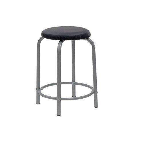 Studio Designs Comet Center With Stool Silver / Black 13325: Arts, Crafts & Sewing- Shop MIXXCI