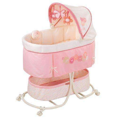 Summer Infant Soothe & Sleep Bassinet With Motion, Lila: Bassinet- Shop MIXXCI