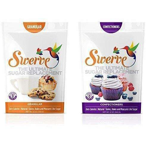 Swerve Sweetener, Bakers Bundle, 12Oz Granular And Confectioners Pack Of 2: Grocery & Gourmet Food- Shop MIXXCI
