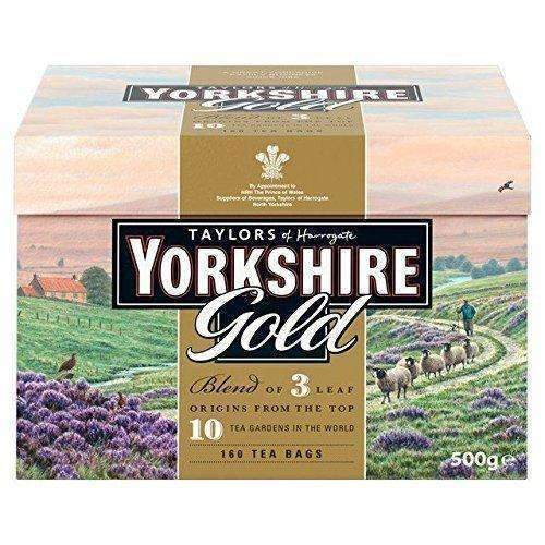 Taylors Of Harrogate Yorkshire Gold, 160 Teabags: Grocery & Gourmet Food- Shop MIXXCI