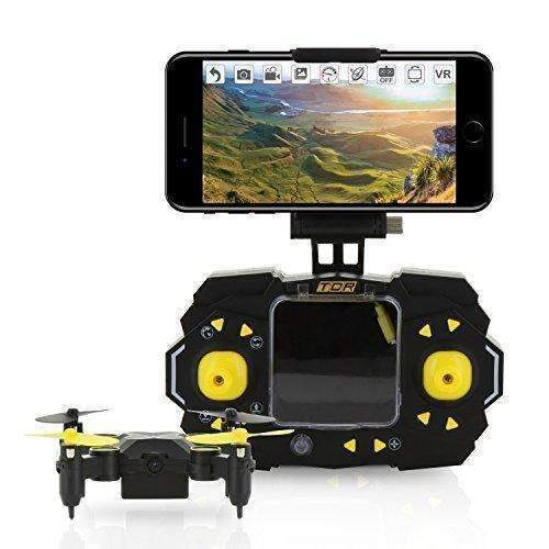 Tenergy Tdr Sky Beetle Mini Rc Drone With Camera Live Video, 2.4Ghz Fpv Wifi App Controlled Quadcopter Drone With Docking Transmitter, Auto Hovering, One-Key Stunt Moves: Hobbies- Shop MIXXCI