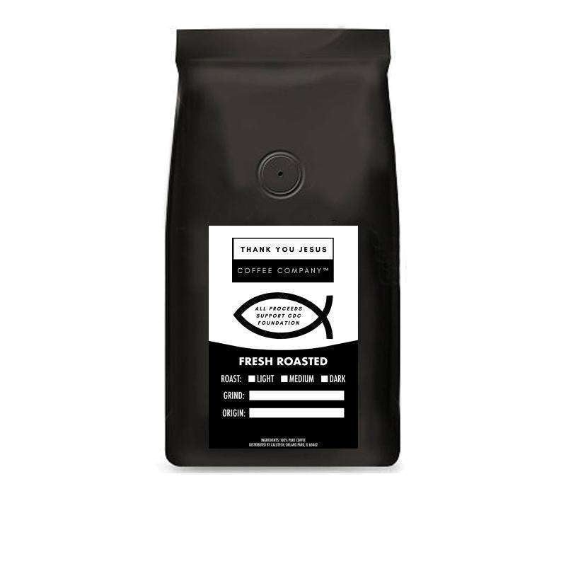 Thank You Jesus Coffee Company™ French Roast - All proceeds support CDC Foundation to combat coronavirus: Coffee- Shop MIXXCI