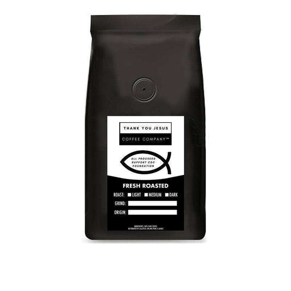Thank You Jesus Coffee Company™ Half Caff Blend - All proceeds support CDC Foundation to combat coronavirus: Coffee- Shop MIXXCI