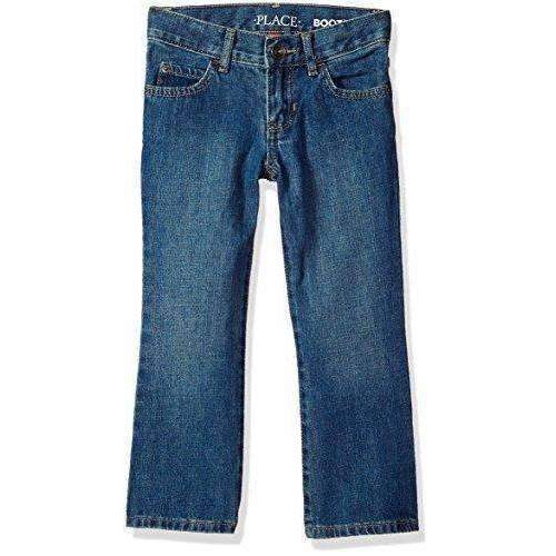 The Children'S Place Boys' Bootcut Jeans: Boys Clothing- Shop MIXXCI