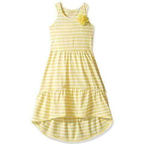 The Children'S Place Girls' Sleeveless Casual Dress: Girls Clothing- Shop MIXXCI
