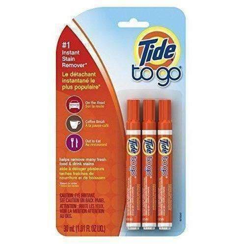 Tide To Go Instant Stain Remover Liquid Pen, 3 Count: New- Shop MIXXCI