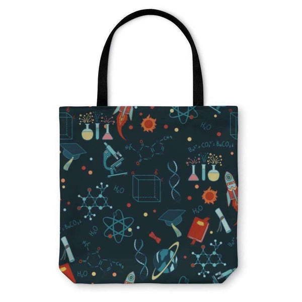 Tote Bag, Science Stuff Pattern: Tote Bag- Shop MIXXCI