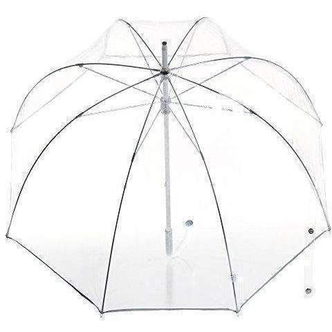 Totes Signature Clear Bubble Umbrella, Clear: New- Shop MIXXCI