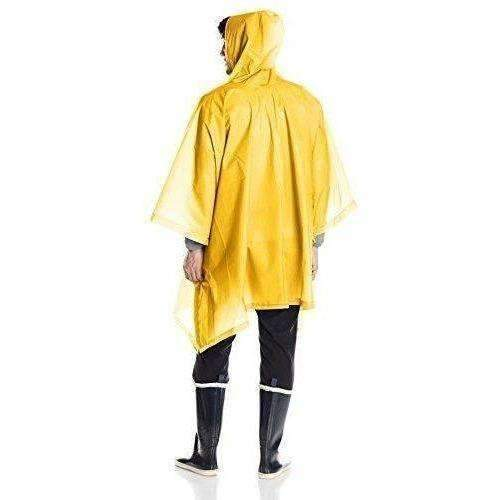 Totes Unisex Rain Poncho, Yellow, One Size: New- Shop MIXXCI