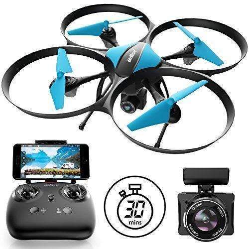 U49W Drone With Camera Live Video - Blue Heron Drone With 2 Wifi Fpv Drone Batteries For Drones With Camera: Hobbies- Shop MIXXCI