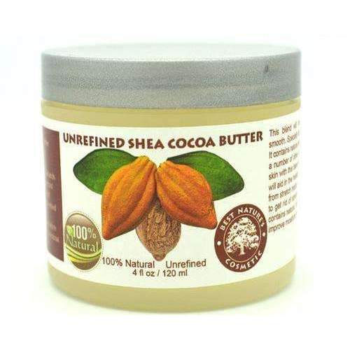 Unrefined Shea - Cocoa Butter. Helps To Promote: Body Moisturizers- Shop MIXXCI