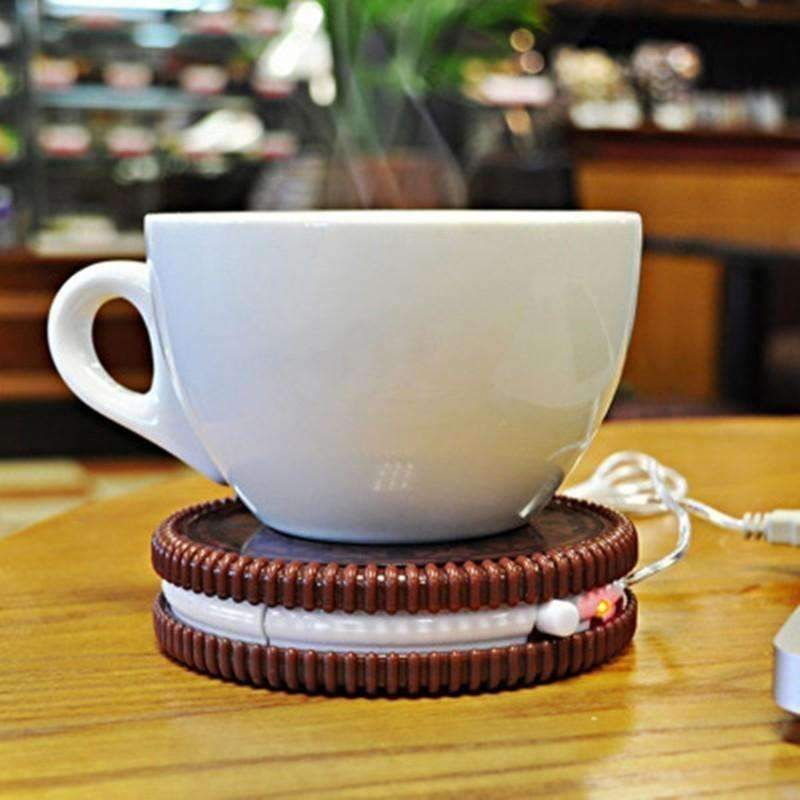 Usb-Powered Uk Mat Cup Warmer: Tech Accessories- Shop MIXXCI