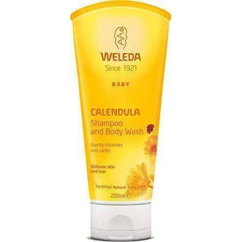 Weleda Calendula Baby Shampoo And Body Wash, 6.8-Ounce: Hair Care Products- Shop MIXXCI