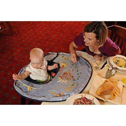Willcome Restaurant And Home Baby Feeding Saucer High Chair Cover, Highchair Cover Germ Prevents Food And Toys Falling To Floor: New- Shop MIXXCI