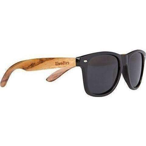 Woodies Zebra Wood Sunglasses With Polarized Lenses: Unisex Sunglasses- Shop MIXXCI
