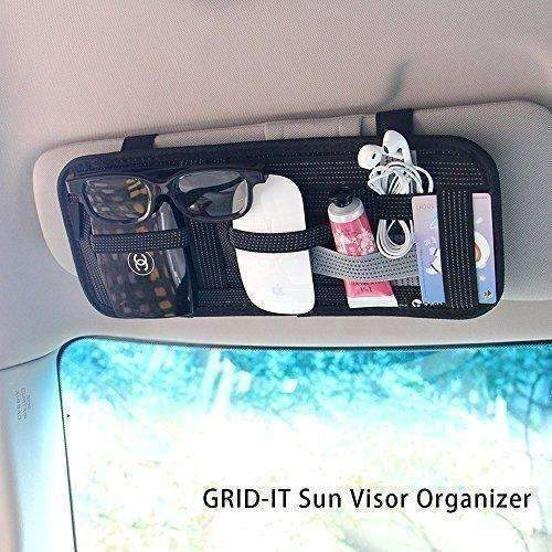 Yier Car Sun Visor Organizer Card Storage And Electronic Accessory Holder: New- Shop MIXXCI