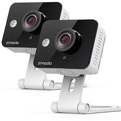Zmodo Wireless Two-Way Audio HD Home Security Camera (2 Pack)  with Night Vision: Camera & Photo- Shop MIXXCI