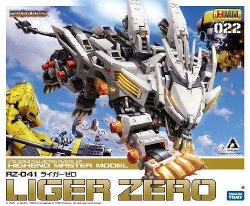Zoids Japanese Kotobukiya Model Kit Rz041 Liger Zero: - Shop MIXXCI