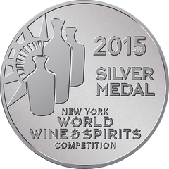 SILVER MEDAL: New York World Wine and Spirits Competition