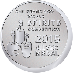 SILVER MEDAL: San Francisco World Spirits Competition