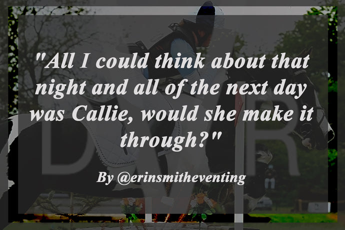 """All I could think about that night and all of the next day was Callie, would she make it through?"" - @erinsmitheventing"