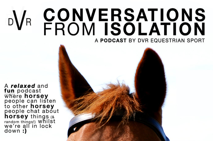 CONVERSATIONS FROM ISOLATION - DVR launches lock down Podcast series