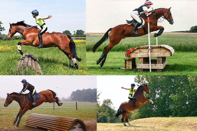 DVR's Eventing, polo and tackless rider Josey