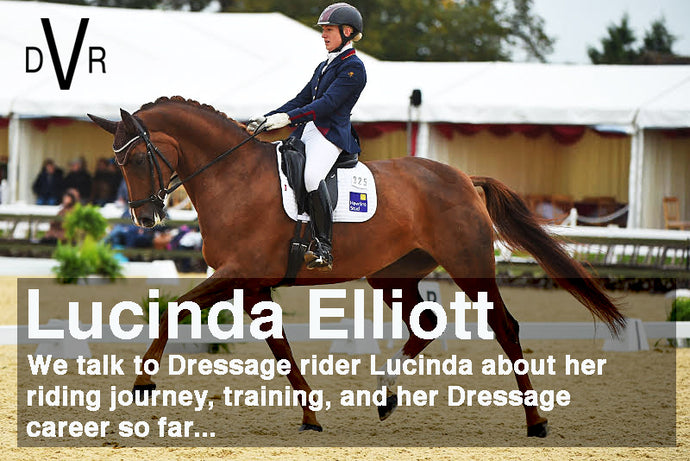 """As well as training the horses, they all hack, do poles, jump and all get turned out. I think its really important for them to have varied work to keep them fresh and happy.""- Interview with Dressage rider Lucinda Elliott"