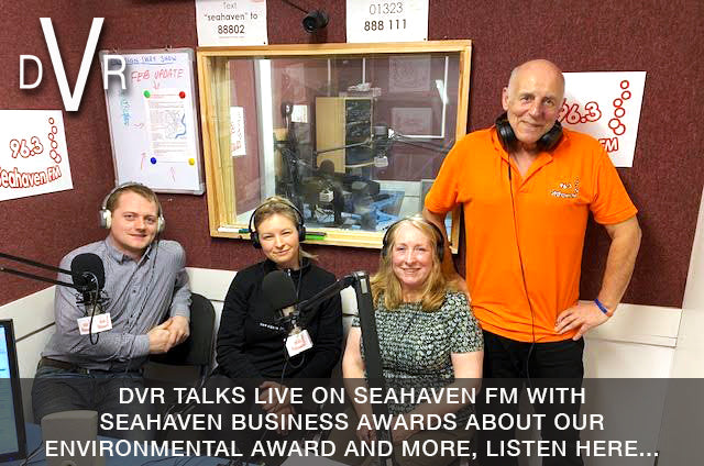 DVR talks environmental business on Seahaven FM