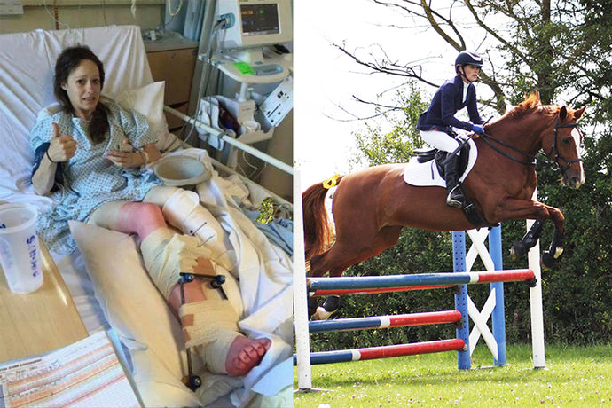 Getting through a life-changing injury - Para show-jumper Rachel tells her story