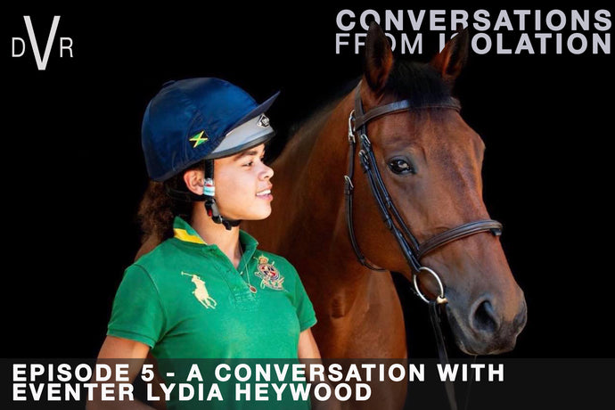 CONVERSATIONS FROM ISOLATION - Episode 5 with Lydia Heywood