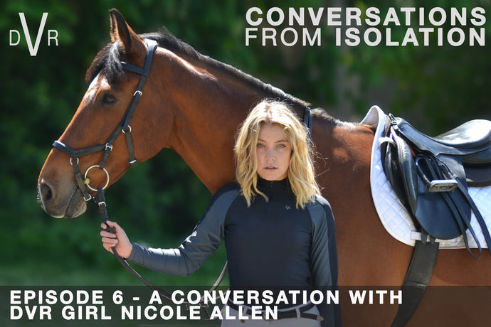 CONVERSATIONS FROM ISOLATION - Episode 6 with Nicole Allen