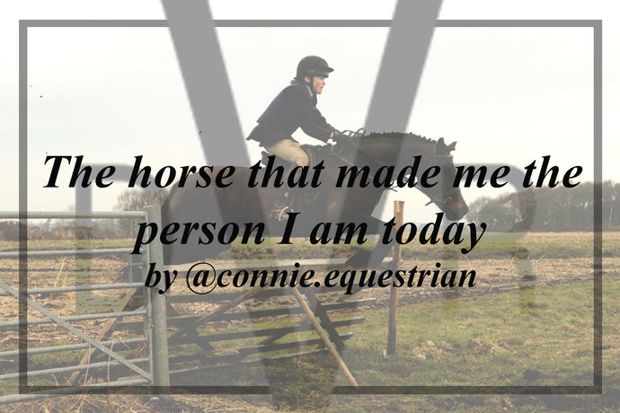The horse that made me the person I am today - by @connie.equestrian