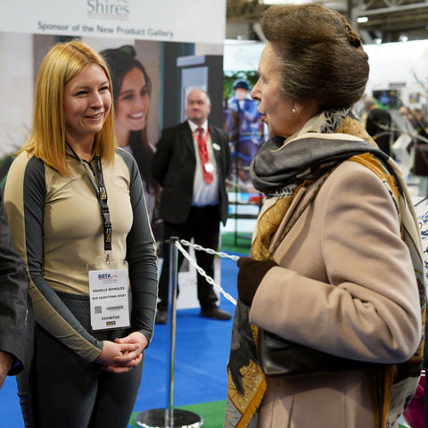 DVR meets HRH Princess Royal at BETA International