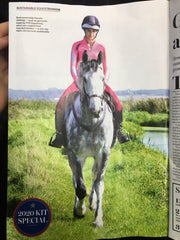 DVR Equestrian recycled clothing features in Horse and Hound
