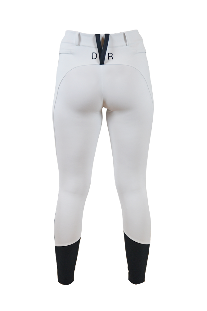 Ultra lightweight, super stretch Penny Sport Breeches - Milton White