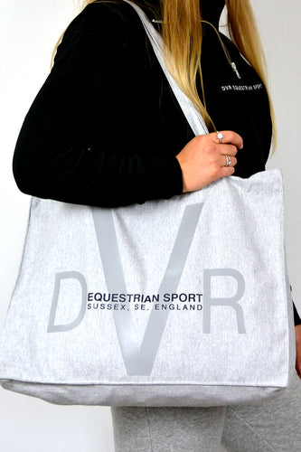 Heavyweight Slouchy Shopper Bag - Grey